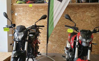 Nouveau moto Benelli 125